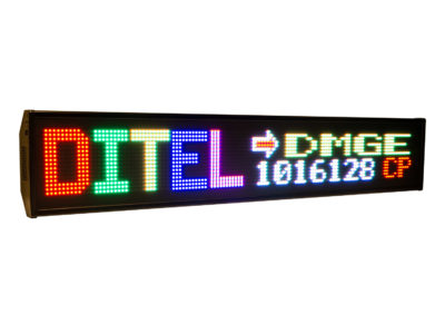 Visualizador matricial RGB DMGE1016128C