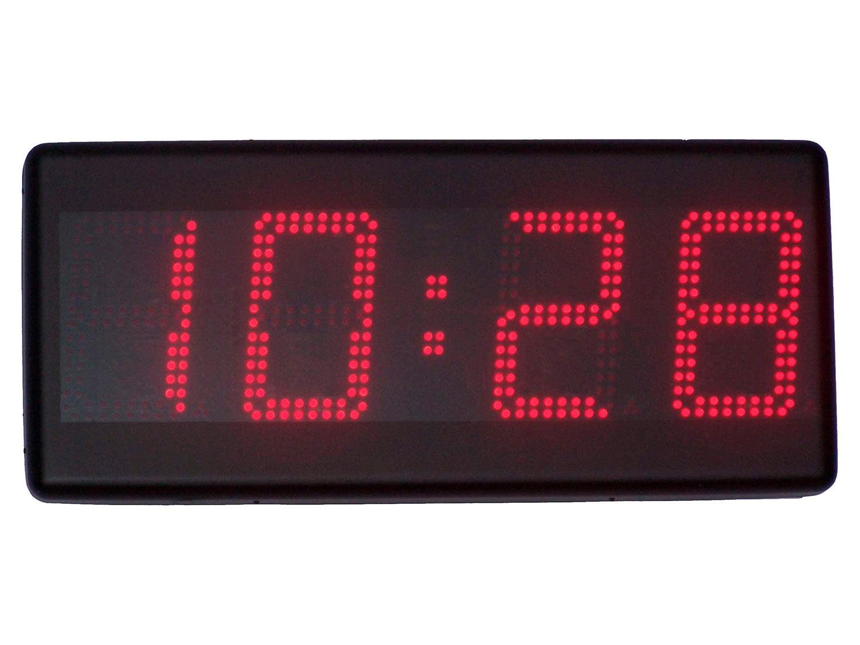 Reloj industrial de panel LED