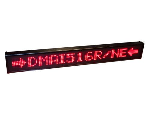 Gran formato 1 línea LED
