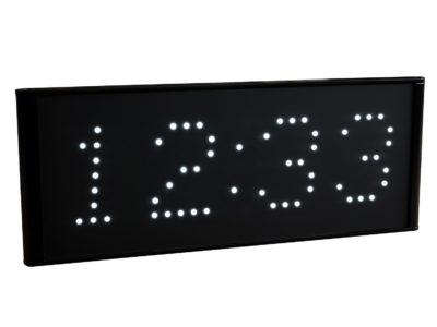 Calendario cronómetro LED blanco
