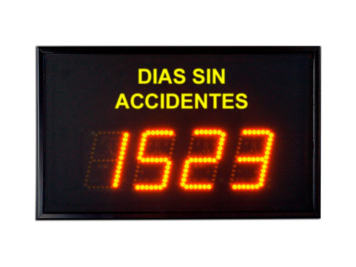 Días sin accidentes