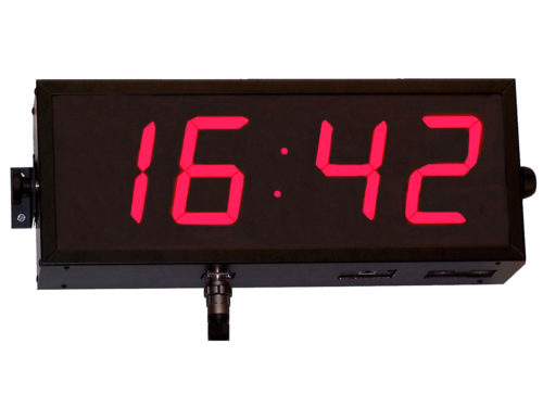Reloj industrial de panel