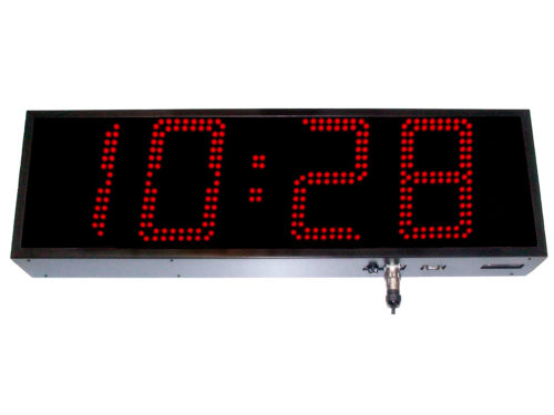 Reloj industrial led