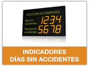 Indicadores días sin accidentes