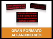 Gran formato alfanumérico