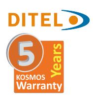 5 años de garantia DITEL