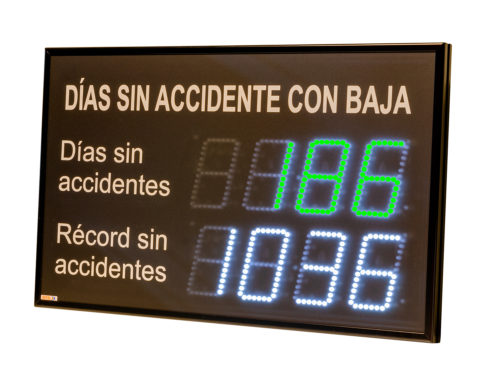 Indicador días sin accidentes