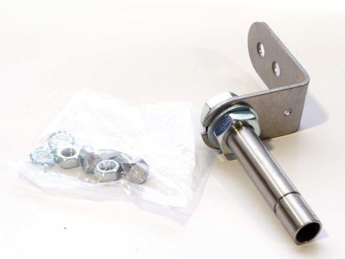 Soporte montaje con tubo y rosca 100mm para BR50