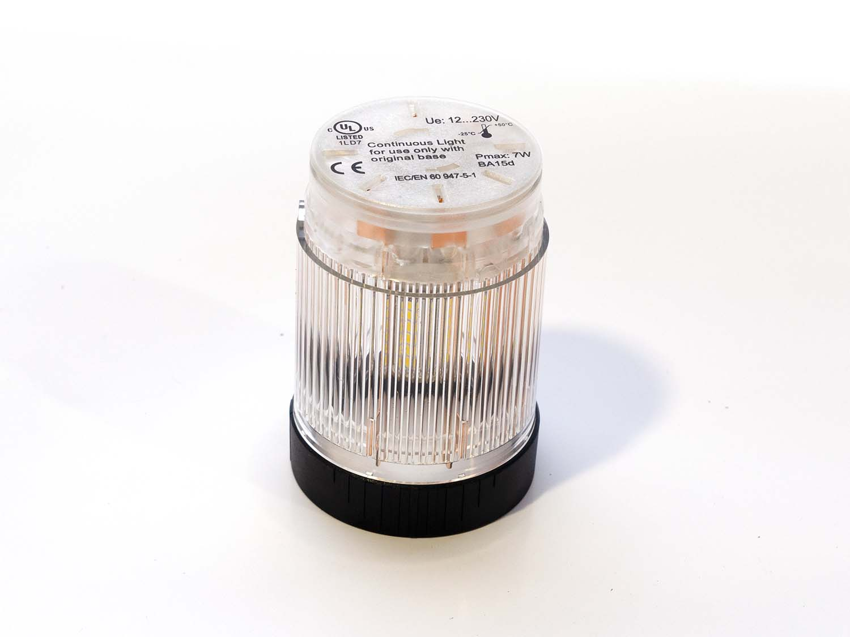 Módulo de luz led amarillo/transparente continua BR50 24AC/DC