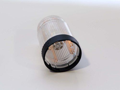 Módulo de luz led rojo/transparente continua BR50 24AC/DC
