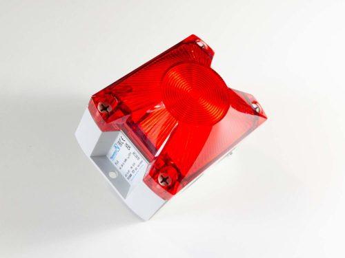 Baliza De Señalización Industrial LED Blanco / Rojo 90-265VAC
